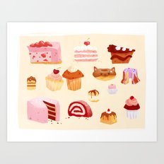 The Sweeter Things in Life Art Print