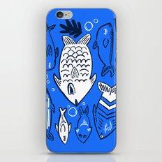Poissons de La Mer iPhone & iPod Skin