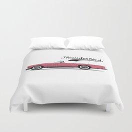 Thunderbird Pink Duvet Cover