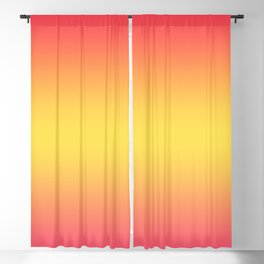Ombre Anjo Raspberry Gold Gradient Blackout Curtain