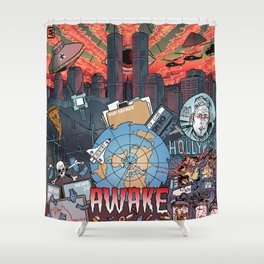 AWAKE! Shower Curtain