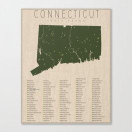 Connecticut Parks Canvas Print