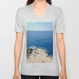 Edge of Sea Unisex V-Neck