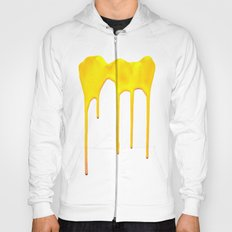 Yellow Splatter Hoody