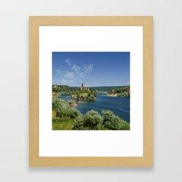 Almourol, Portugal Framed Art Print