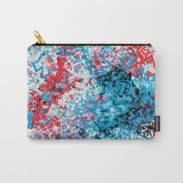 Demonic Toy Poodle Abstract Carry-All Pouch