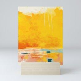 sunny landscape Mini Art Print