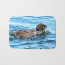 Baby loon solo swim Bath Mat