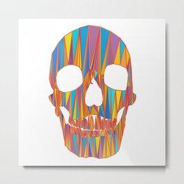 head of skeleton Metal Print