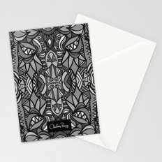 Roller Coaster Black and White Stationery Cards