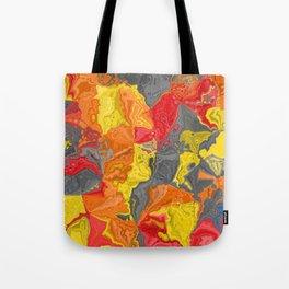 Oil colored rocks 04 Tote Bag