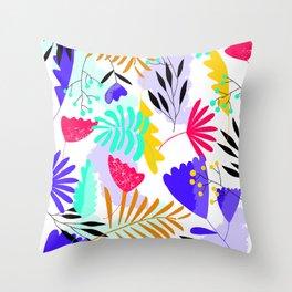 Finally summer print Throw Pillow