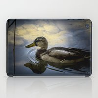 duck iPad Cases featuring Duck by B.P.