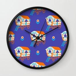 Vardo Pattern Wall Clock