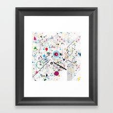 Caos Framed Art Print