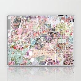 Minneapolis map - Landscape Laptop & iPad Skin