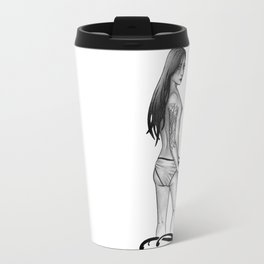 Playing Coy Travel Mug