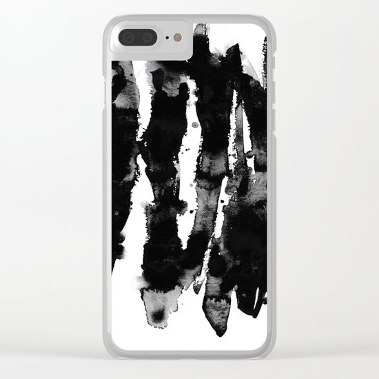 Watercolors 1 Clear iPhone Case