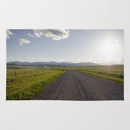 Gravel Road Rug