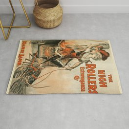 The High Rollers Extravaganza poster Rug