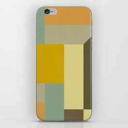 Retro Geometry IV iPhone Skin