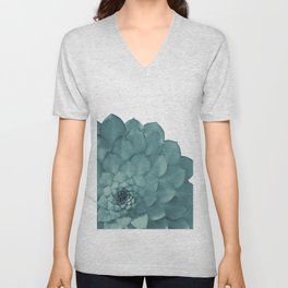 Succulent Summer Dream #1 #minimal #decor #art #society6 Unisex V-Neck