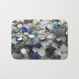 Sea Glass Assortment 5 Bath Mat
