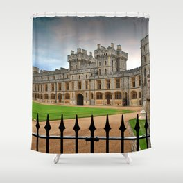 Windsor Castle Berkshire England UK Shower Curtain