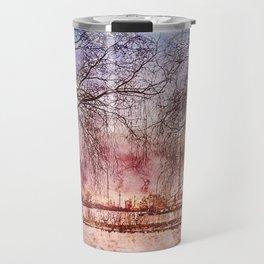 Socitey6 Water-color painting- CN tower Travel Mug