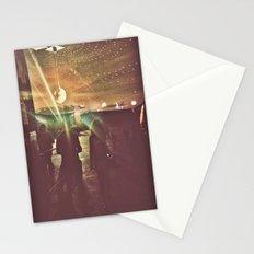 disco sunset Stationery Cards