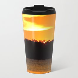 Sunset over lake June Florida Travel Mug