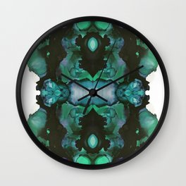 blue inertia Wall Clock