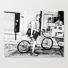 Tim Canvas Print
