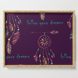 Dream Catcher Serving Tray