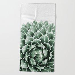 Succulent splendour Beach Towel