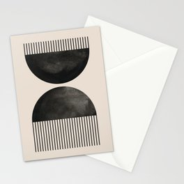 Abstract watercolor black circle hand draw illustration. Lovely abstract art. Elegent home decor. Stationery Cards