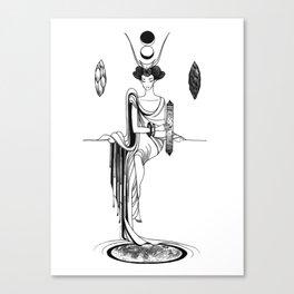 Major Arcana II The High Priestess Canvas Print