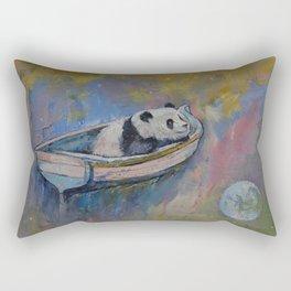 Panda Moon Rectangular Pillow