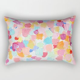 Amoebic Confetti No. 2 Rectangular Pillow