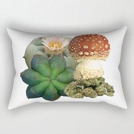 Natural Entheogens Rectangular Pillow