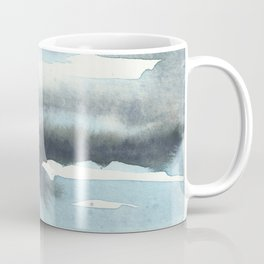 Cloud Cover Watercolor Minimalist Coffee Mug