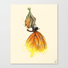 Bookworm Metamorphosis Canvas Print