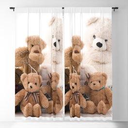 Teddy Bear 001 Blackout Curtain