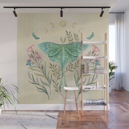 Luna and Forester - Oriental Vintage Wall Mural