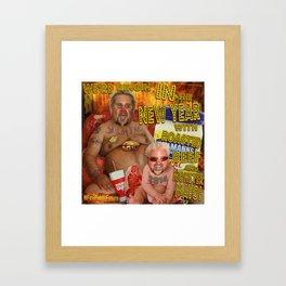 Happy New Years from FieriPhraseFridays! Framed Art Print