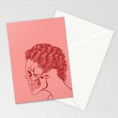 Skull Girl 4 Stationery Cards