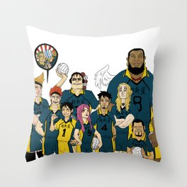 11 Supernova : VOLLEY Throw Pillow