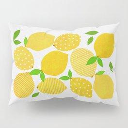 Lemon Crowd Pillow Sham