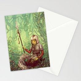 Pastel Pangolin Pals Stationery Cards