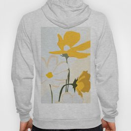yellow flowers Hoody